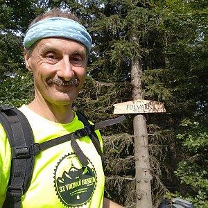 Jiří Sumbal na vrcholu Folvark (18.8.2018 15:31)