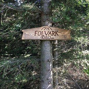 ZdenekCahlik na vrcholu Folvark (7.9.2018 11:36)
