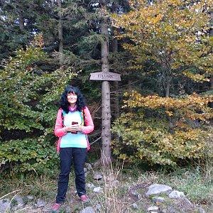 Maja na vrcholu Folvark (10.10.2020 13:47)