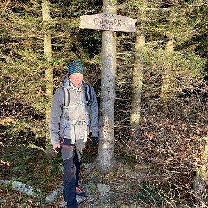 David na vrcholu Folvark (21.11.2020 14:51)