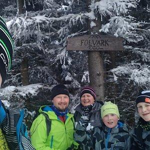 Kemo na vrcholu Folvark (10.1.2021 11:55)