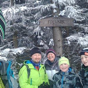trefi.s na vrcholu Folvark (10.1.2021 11:55)