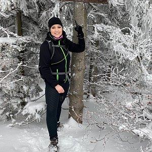 Martaska na vrcholu Folvark (29.1.2021 9:05)