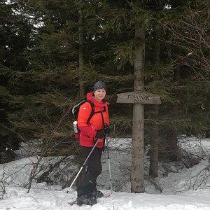 dana na vrcholu Folvark (3.2.2019 11:55)