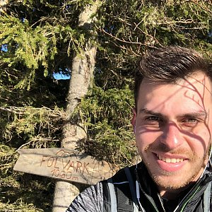 Pospa na vrcholu Folvark (17.2.2019 13:00)