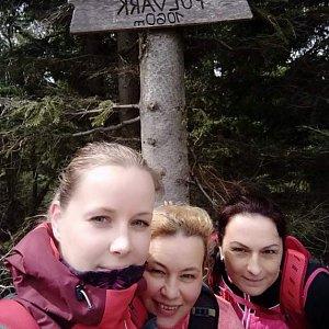 Kateřina Turčeková na vrcholu Folvark (6.5.2021 14:00)