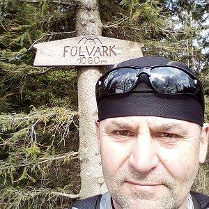 Li Be na vrcholu Folvark (2.5.2019 15:25)