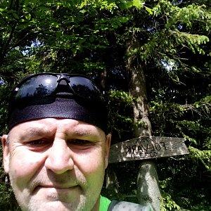 Li Be na vrcholu Folvark (15.6.2021 14:06)
