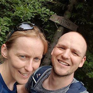 Michaela Karásková na vrcholu Folvark (27.6.2021 15:01)