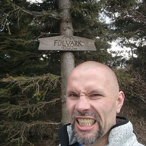 Pavel Krömer na vrcholu Folvark (11.5.2019 12:58)
