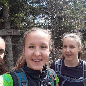 Radka na vrcholu Folvark (19.5.2019 11:30)