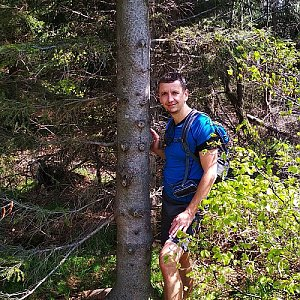 PeteBukař na vrcholu Folvark (25.5.2019 11:35)