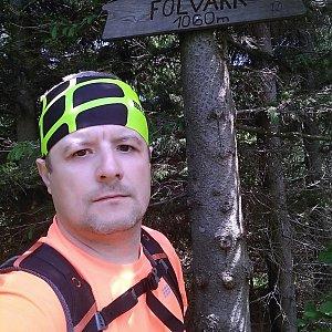 Vítězslav Vrána na vrcholu Folvark (9.6.2019 11:34)