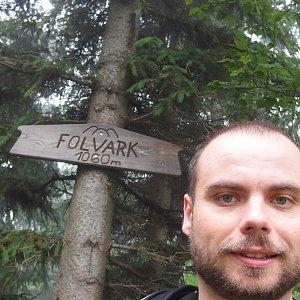 Jiří Chmiel na vrcholu Folvark (22.6.2019 10:53)