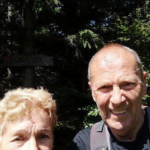 MUDr.Svatopluk Kunčar na vrcholu Folvark (11.7.2019 12:12)