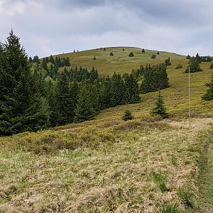 Petr Pepe Peloušek na vrcholu Veterné (1.6.2019 15:40)