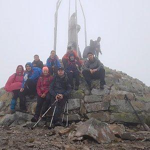 Zrzatica na vrcholu Homyak (30.6.2018 14:51)