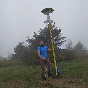 Petr Zajac na vrcholu Velká Rača (27.5.2020 9:58)