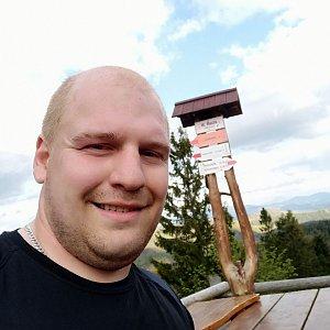Petr Petrik na vrcholu Velká Rača (2.6.2020 18:07)