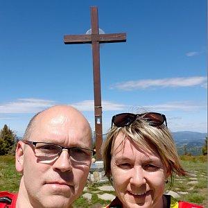 BUKY a IRČA na vrcholu Velká Rača (6.6.2020 11:43)