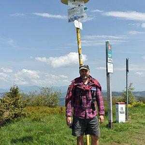Ladislav Farý na vrcholu Velká Rača (12.6.2020 13:13)