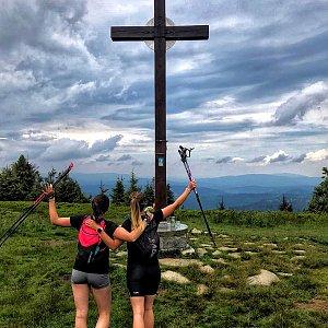 Majky na vrcholu Velká Rača (28.6.2020 0:31)