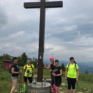 Dominika Turčeková na vrcholu Velká Rača (27.6.2020 14:08)