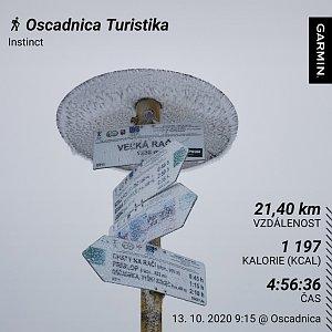 Medvěd Codiak na vrcholu Velká Rača (13.10.2020 12:05)