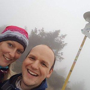 Michaela Karásková na vrcholu Velká Rača (28.10.2020 15:34)
