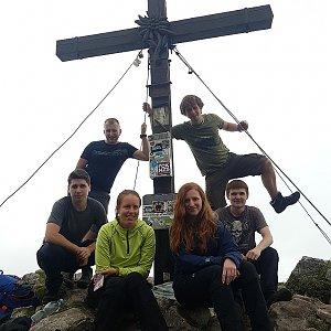 Denisa na vrcholu Rote Wand (5.5.2018 13:40)