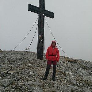 Anna na vrcholu Hochschwab (26.9.2019 16:10)