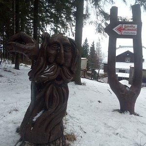 Bartek_na_cestach na vrcholu Skalka (16.1.2020 8:52)