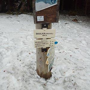 Valcenzo na vrcholu Skalka (3.3.2019 14:56)