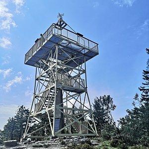 Dajik90 na vrcholu Barania Góra (24.8.2019 13:08)