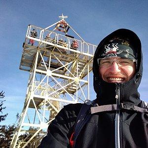 pa3k.soyka na vrcholu Barania Góra (15.1.2020 9:57)