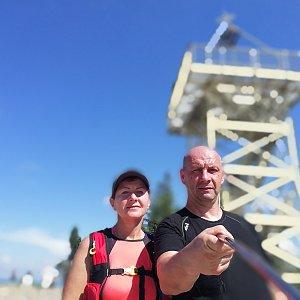 Dana + jirka na vrcholu Barania Góra (28.6.2020 15:37)