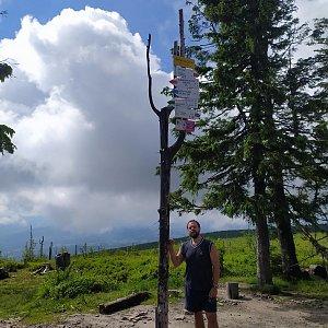 Petr Zajac na vrcholu Barania Góra (30.6.2020 10:01)