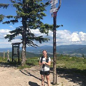 MíšaK na vrcholu Barania Góra (6.7.2020 15:15)
