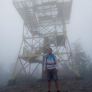 Bartek_na_cestach na vrcholu Barania Góra (18.7.2020 11:45)