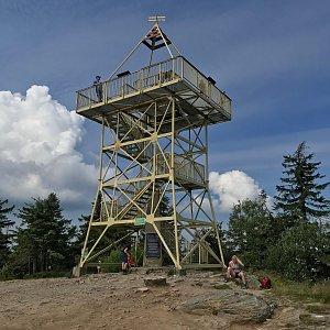 Karin Satoriová na vrcholu Barania Góra (26.7.2020 10:21)
