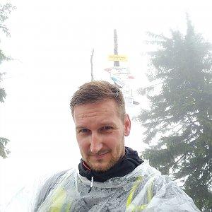 Jiří Tomaštík na vrcholu Barania Góra (19.8.2020 17:24)