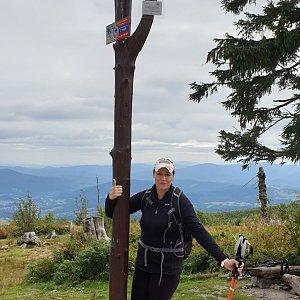 Martaska na vrcholu Barania Góra (4.9.2020 13:52)