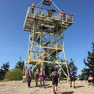 Jarek na vrcholu Barania Góra (19.9.2020 13:04)
