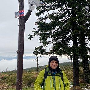 Pery na vrcholu Barania Góra (14.11.2020 13:45)