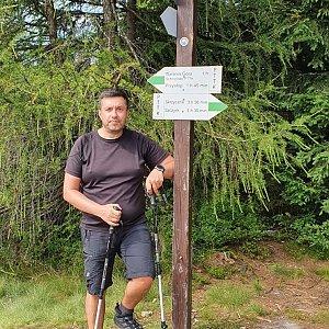 Jiří Gryz na vrcholu Magurka Viślańska (26.7.2020 10:14)