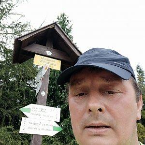 Roman Grebenar na vrcholu Magurka Viślańska (31.7.2020 10:14)