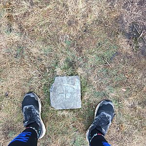 Moty na vrcholu Zielony Kopiec (6.12.2020 14:40)