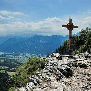 Radek Balcer na vrcholu Predigstuhl (5.7.2018 8:40)