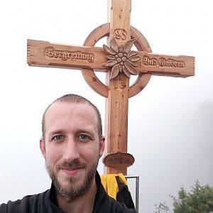 Pája Slon na vrcholu Predigstuhl (14.9.2018 12:18)