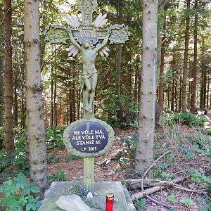Jana F na vrcholu Velká Polana (9.9.2021 11:48)